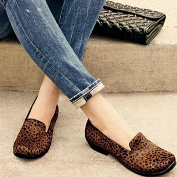 09253dea540 Dansko Shoes - Dansko Olivia Calf Hair Slip-on Loafers in Cheetah